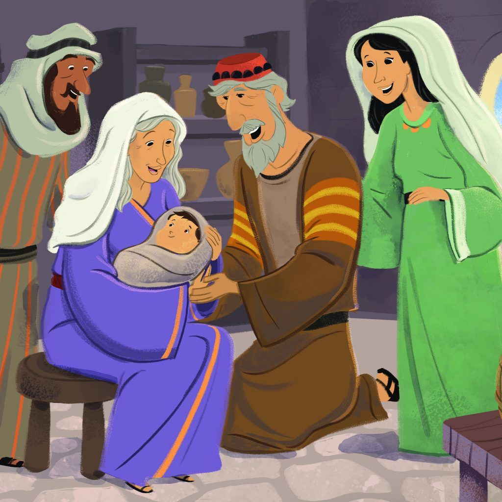The Birth Of John The Baptist Story Summary