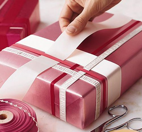 Gift-wrapping tips by Martha Stewart. #wrapping #Christmas #paper