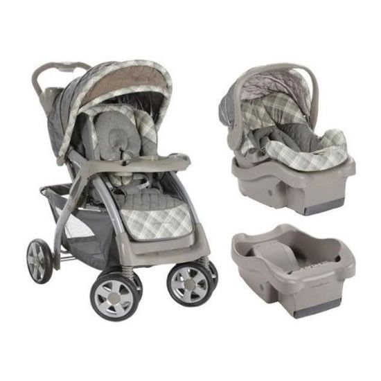 Eddie Bauer Endeavor Travel System With 2 Car Seat Bases