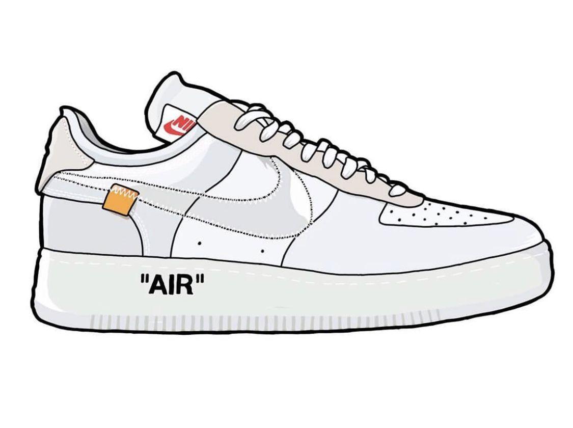 Off White X Air Jordan 1 Wallpaper In 2020 Shoes Wallpaper Nike Art Sneaker Art