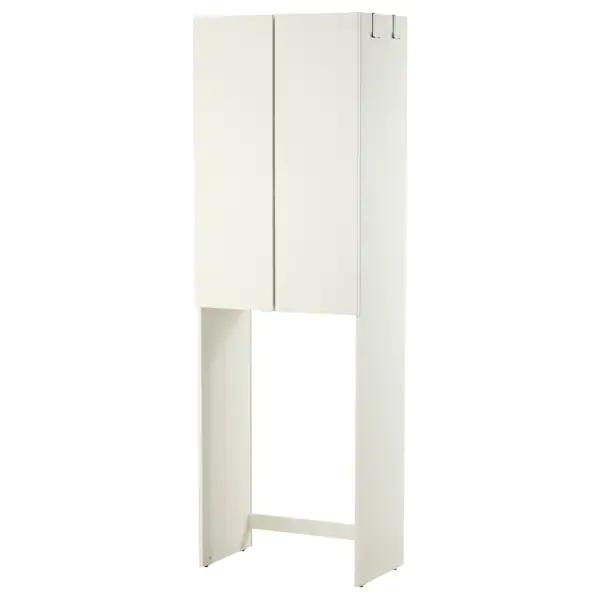 Lillangen Meuble Pour Machine A Laver Blanc 64x38x195 Cm Ikea In 2020 Ikea Waschmaschinenschrank Ikea Lillangen Ikea