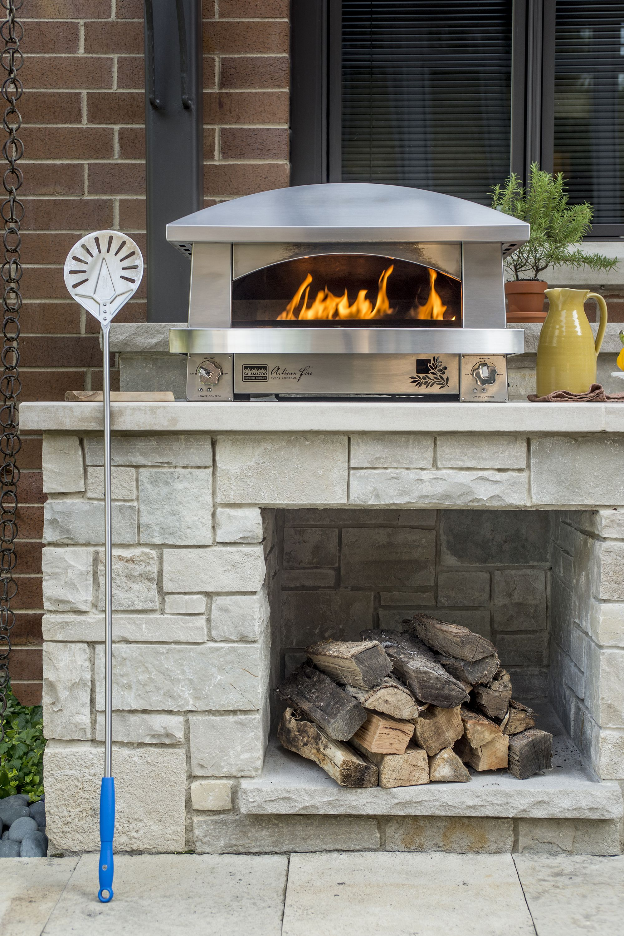 The Kalamazoo Artisan Fire Pizza Oven Kitchen Gallery Outdoor