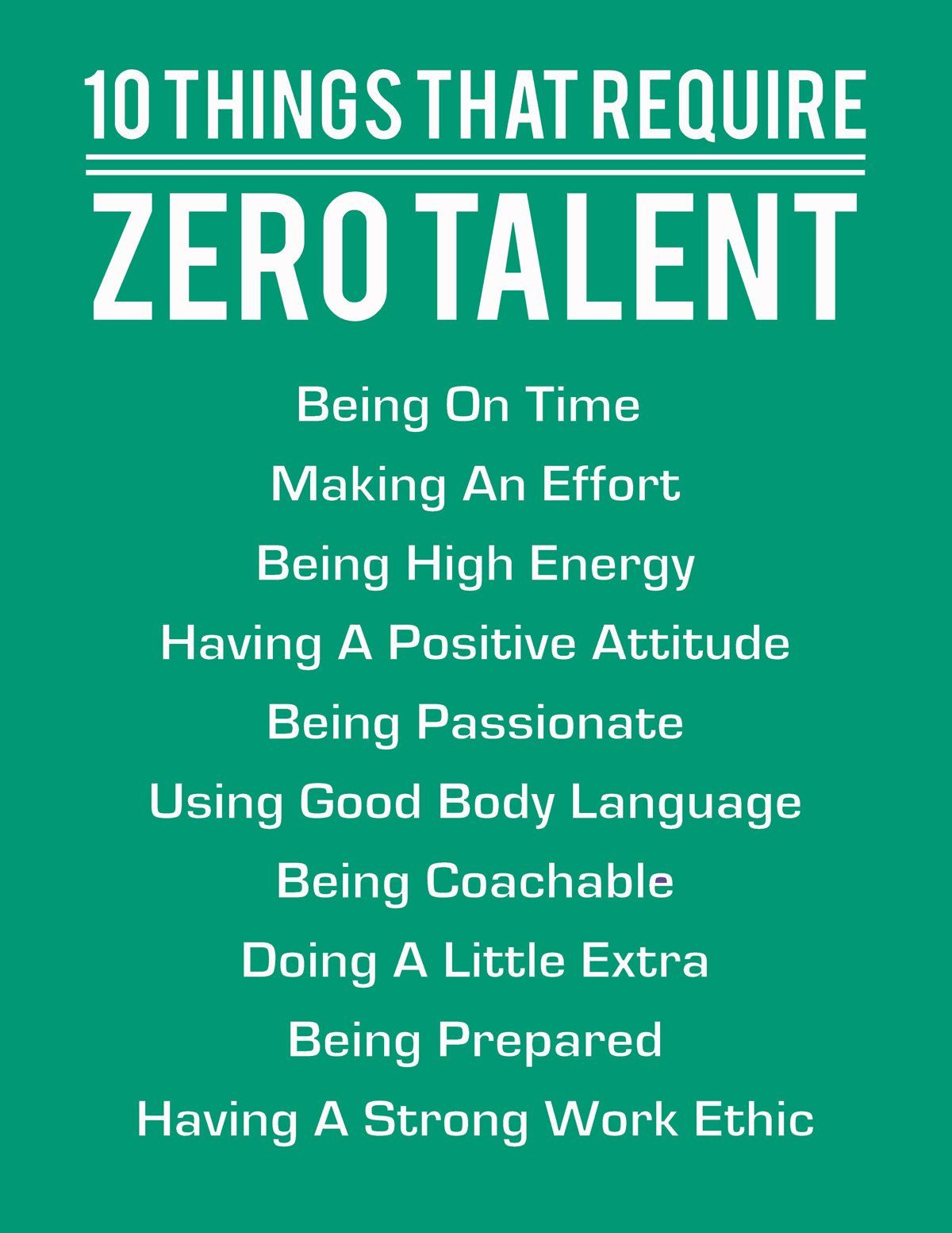 10 Things That Require Zero Talent Emerald Inspirational Etsy