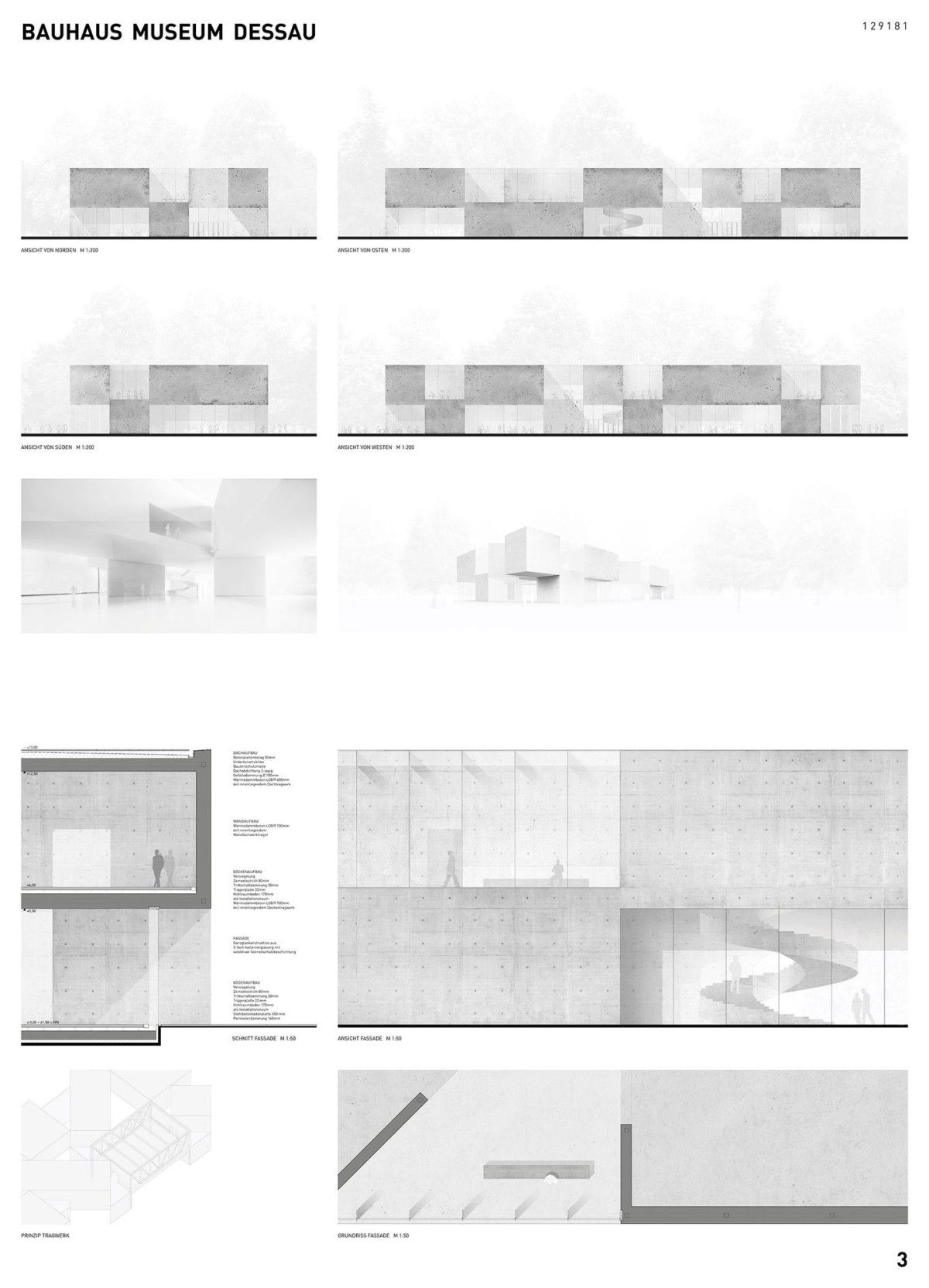 Architekten Bauhaus hess talhof kusmierz architekten bauhaus museum dessau 19 07
