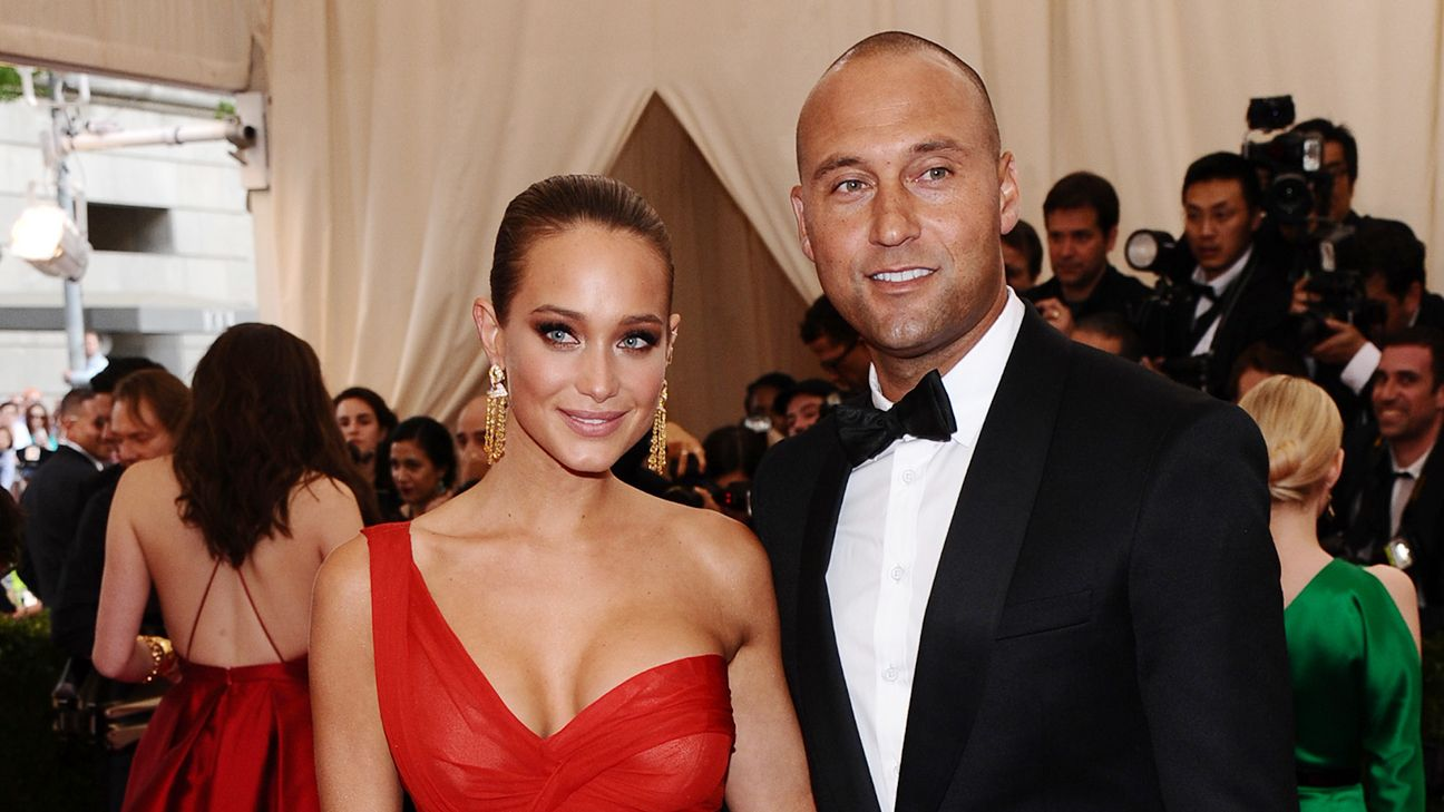 Derek Jeter marries longtime girlfriend Hannah Davis