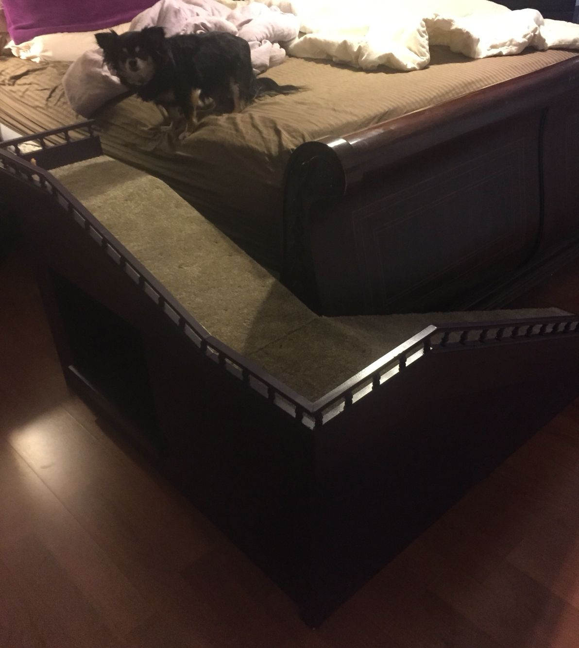 Custom Dog Ramp For King Size Bed Dog Stairs Dog Ramp For Bed