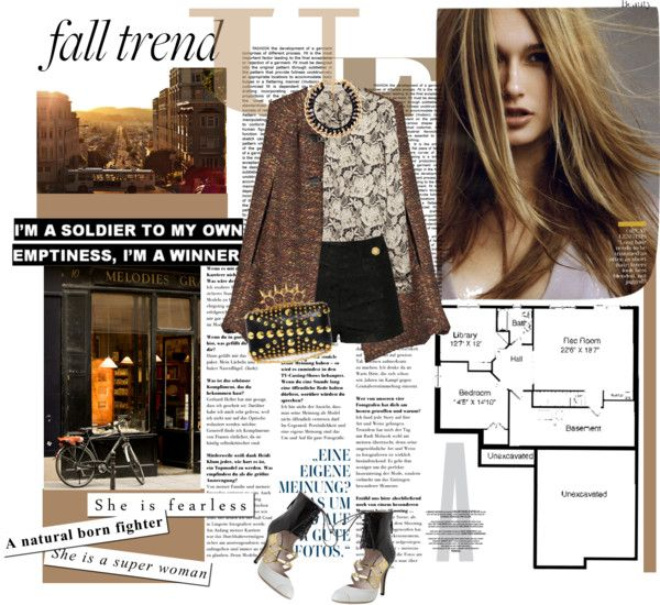 """""""Fall trend: Lace"""" by riennise on Polyvore"""