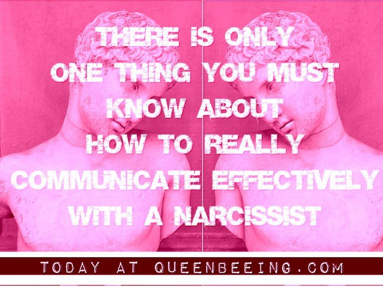 This is the Only Way to Communicate With a Narcissist