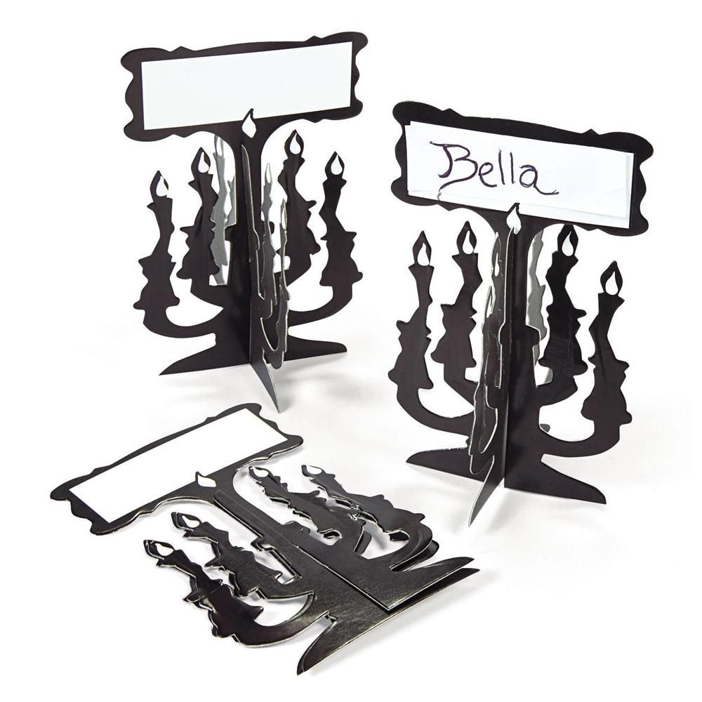 Candelabra Place Cards 12ct | Trendy halloween, Fun express and ...