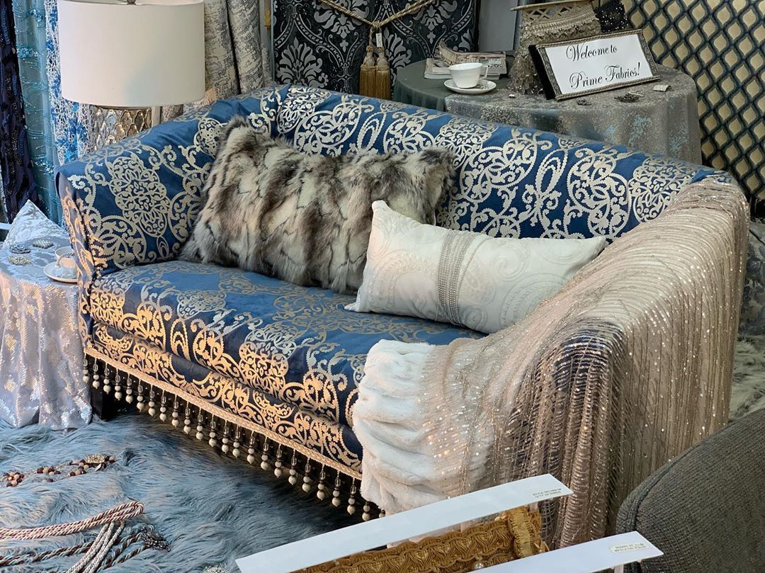 Prime Fabrics On Instagram Beautiful Sofa And Beautiful Pillows