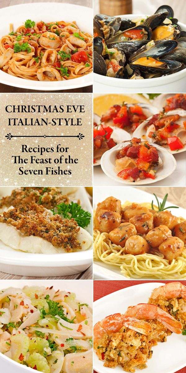 Holiday menu an italian christmas eve christmas eve for Fish dishes for dinner