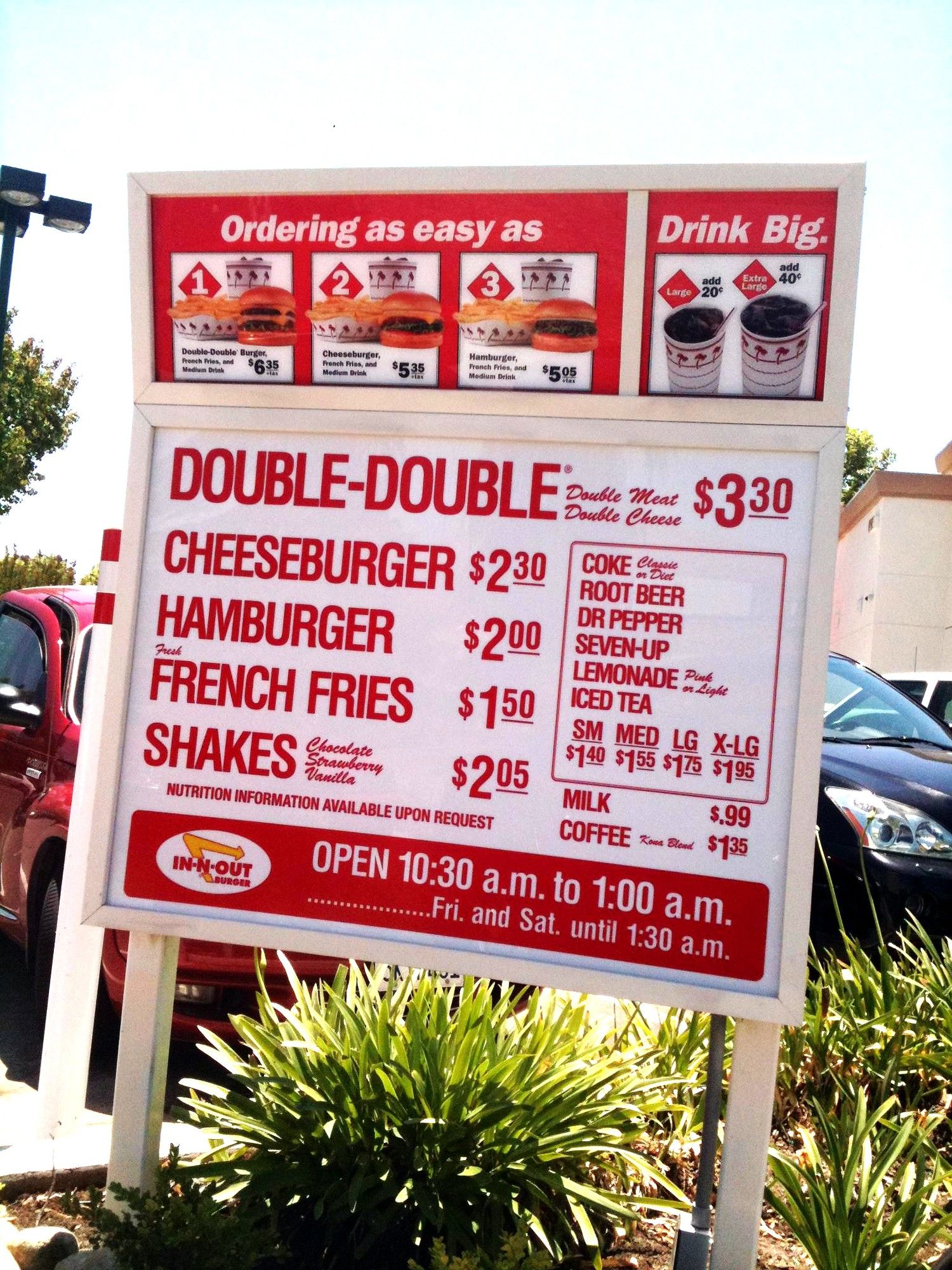 There Are 29 In N Out Burger Secret Menu Items Have A Look At The Complete List At The Best Burger Joint In The In N Out Burger Secret Menu In And Out Burger