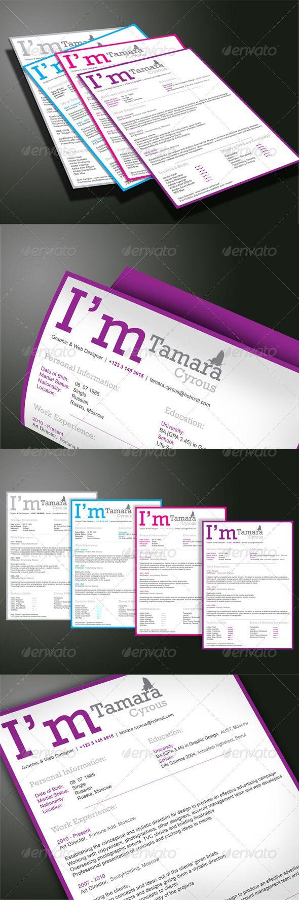 Buy professional resume templates