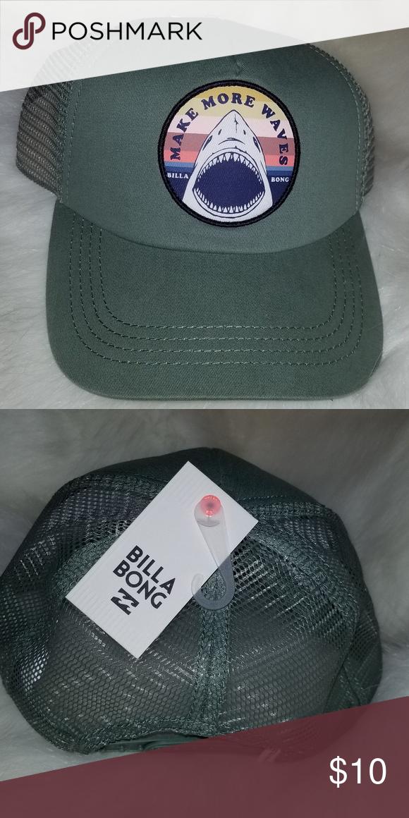 5368e2f9bd3 france billabong mens adiv trucker hat 86389 b6b3e  clearance billabong  green trucker hat brand new green billabong trucker hat with mesh a81c4  e60c1