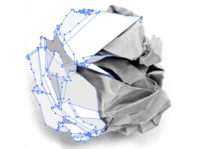 Vector Crumpled Paper Ball Crumpled Paper Paper Balls Paper Logo