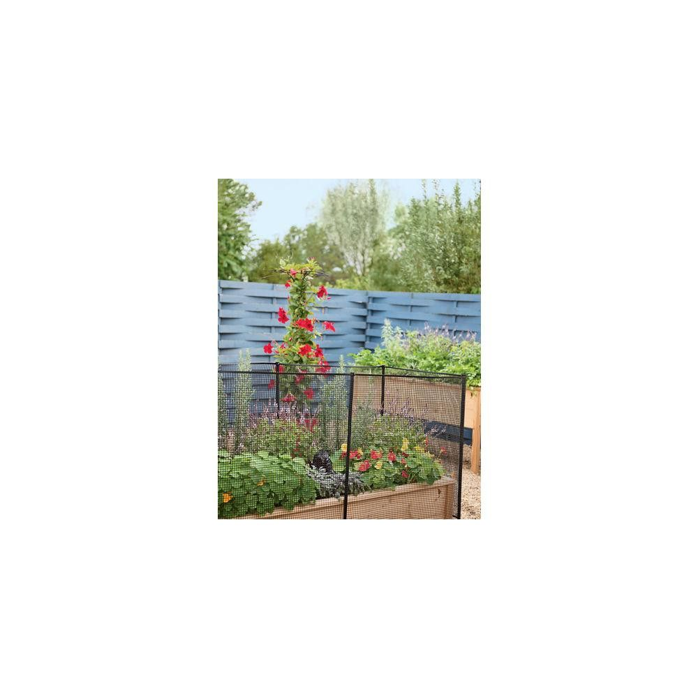 4 Fence Stakes With Clips Set Of 6 Gardener S Supply Company