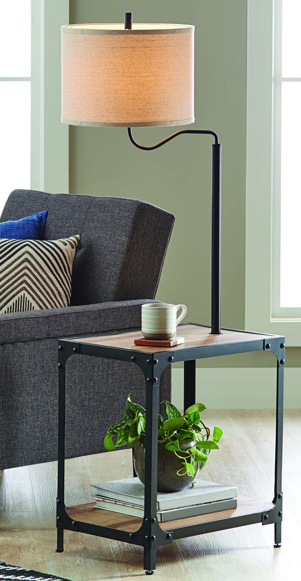 Home Floor Lamp Table Bedroom End Tables Better Homes And Garden