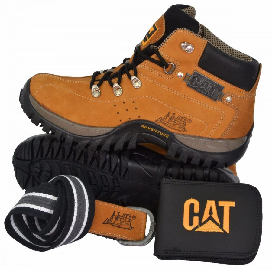 Kit Adventure Botina Caterpíllar Masculina Em Couro - R  118,00 em Mercado  Livre cbb90a9483