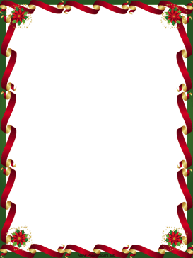 free printable boarders | Christmas Border - Free Page Borders ...