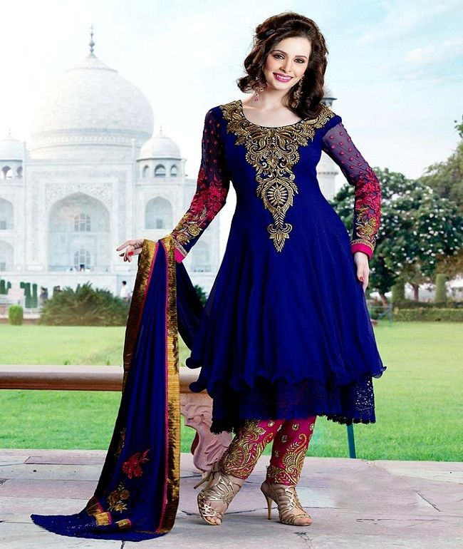 Latest Party Wear Anarkali Suits Designs For Indian Girls, latest ...