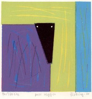 """Pass veggen"" lito by Anna Kristin Ferking"