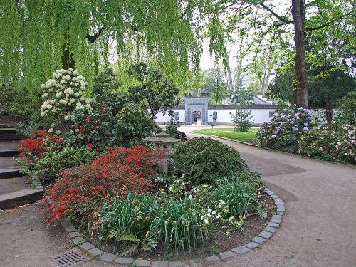 Jardin Chino En El Parque Bethmann Landscape Design Gardening