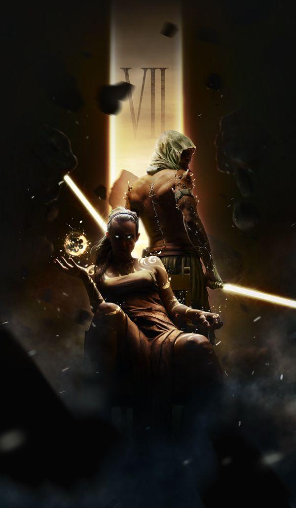 Star Wars Episode VII by Zach Bush, via Behance