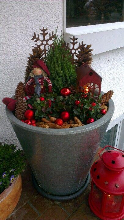 X-mas Deko #weihnachtsdekohauseingangaussen