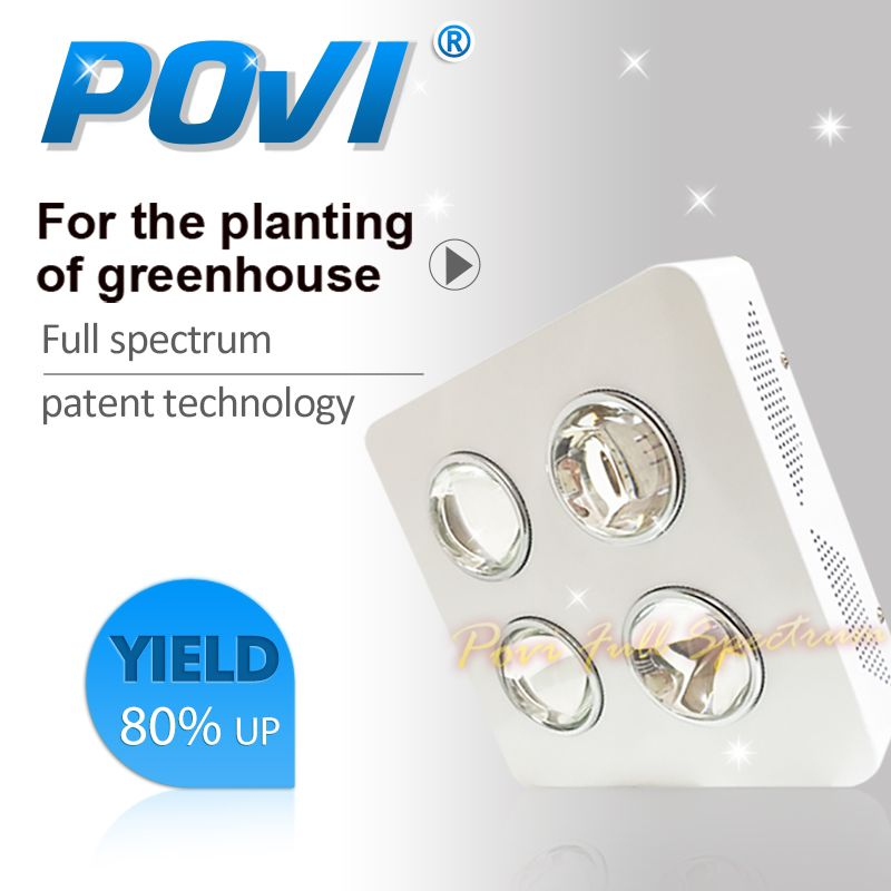 Povi Full Spectrum 200w Led Grow Light Led Plant Lamps Best For Growing And Flowering Led Lights Led Grow Lights Led
