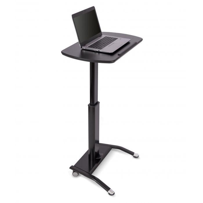 Pneumatic Height Adjustable Lectern Stand Up Desk Adjustable Standing Desk Converter Lectern