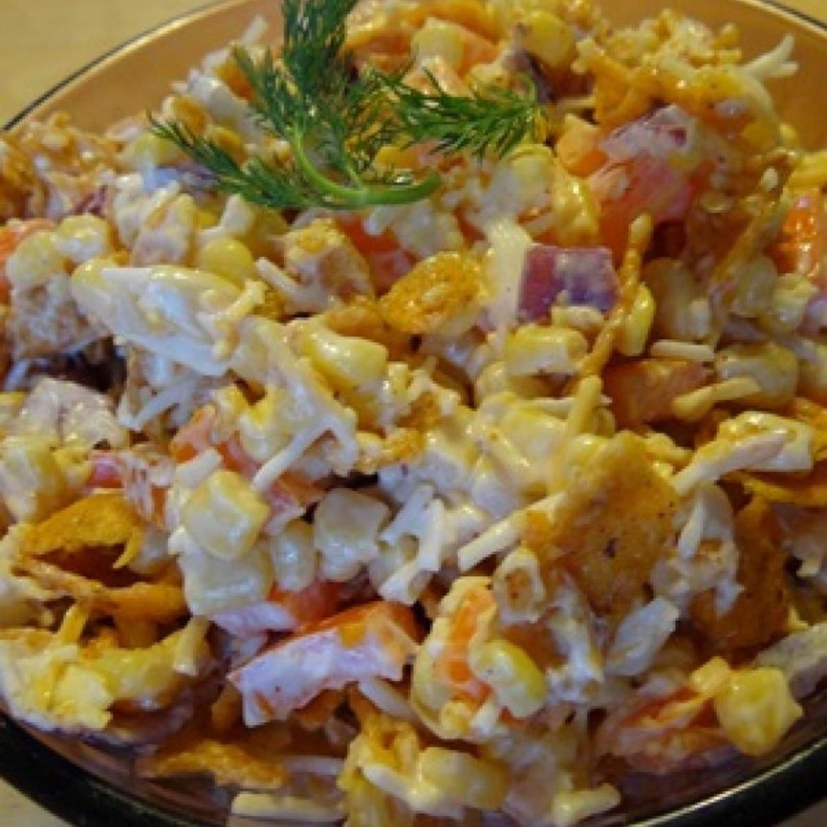 Paula Deen Frito and Corn Salad: Y'All Gotta Try This