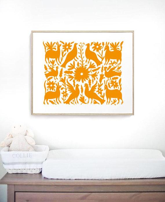 Otomi indians. Otomi hanging. Otomi art. Otomi wall. Large print ...