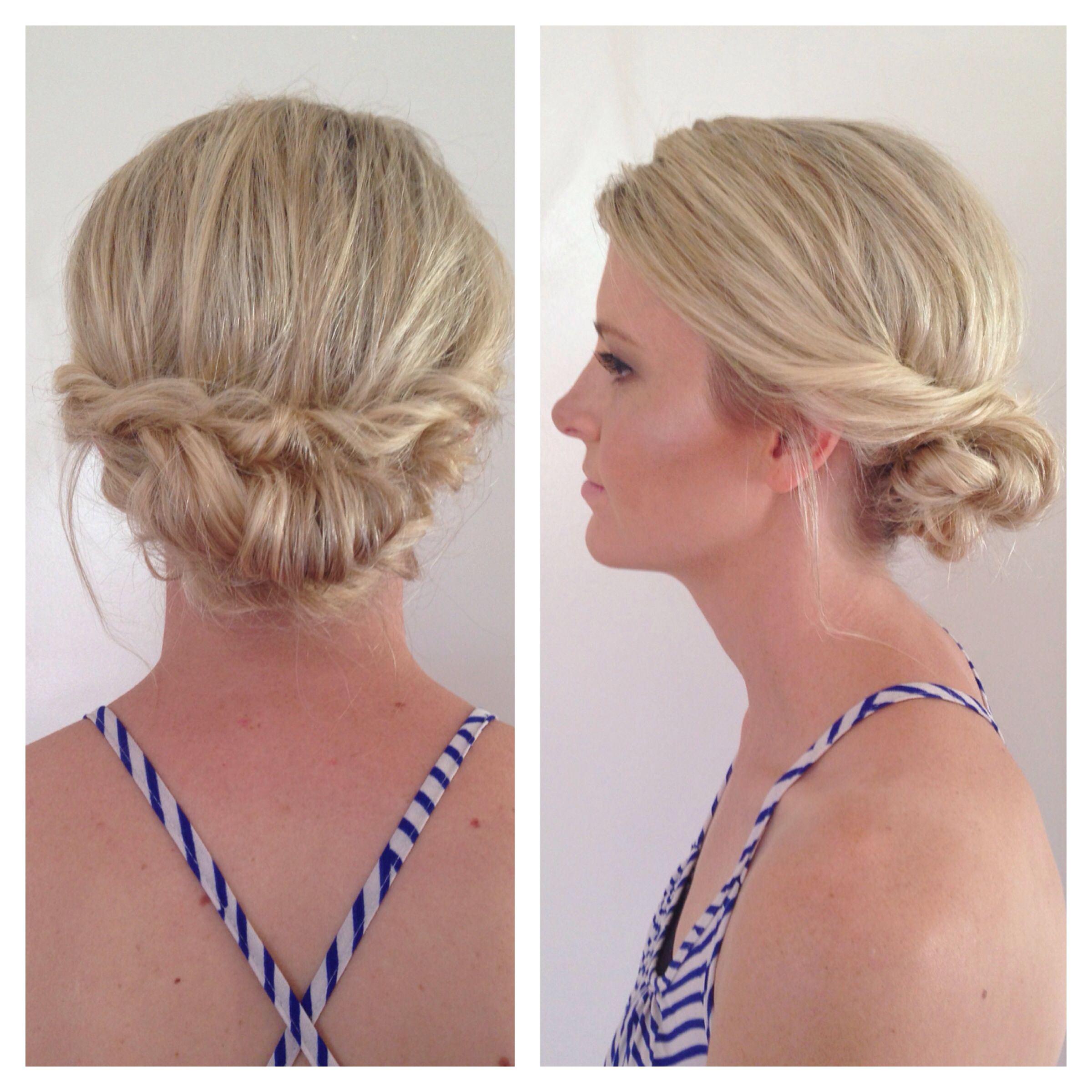 Wedding Hairstyles Low Messy Romantic Chignon Bun And Natural - Bun hairstyle definition