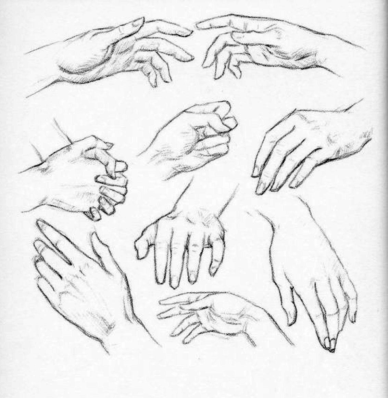 Assez molti-studi-mani-donna   tutorial disegno   Pinterest   Disegno  GO53