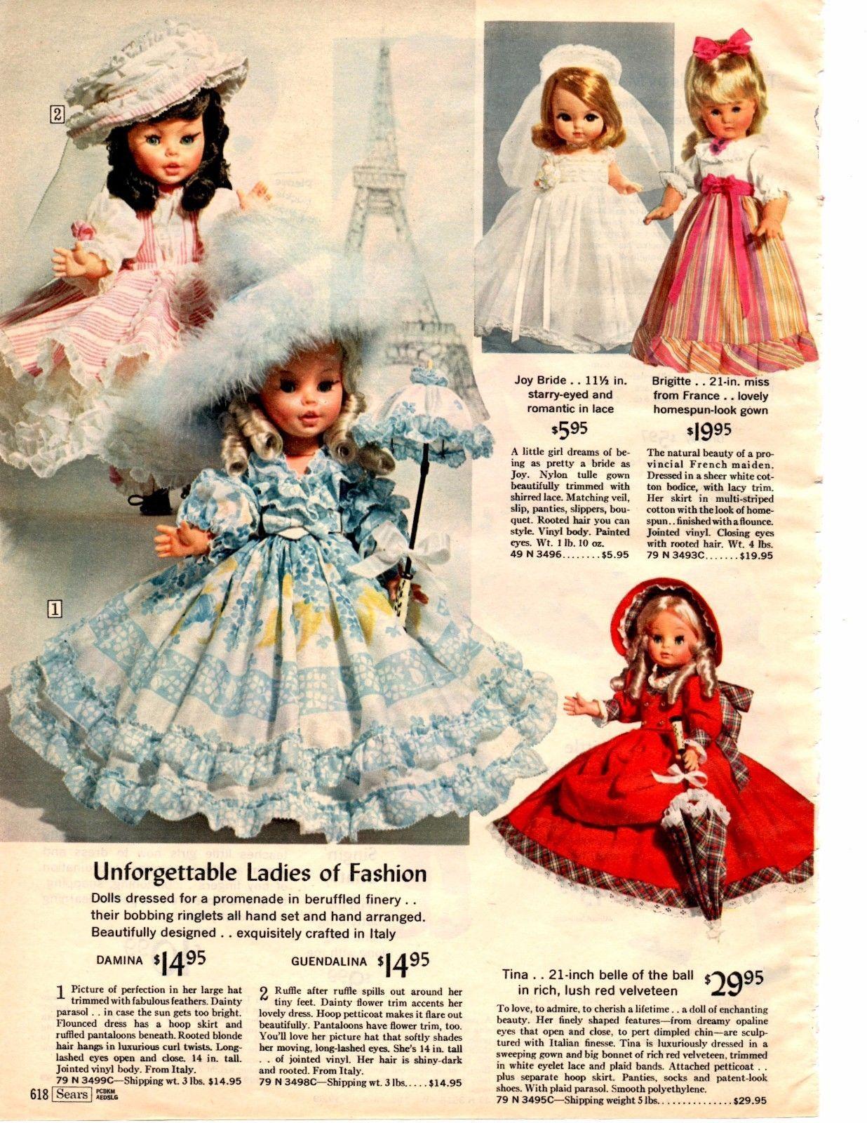 1966 Sears Christmas catalog page Mattel Talking Teachy Keen Singing ...