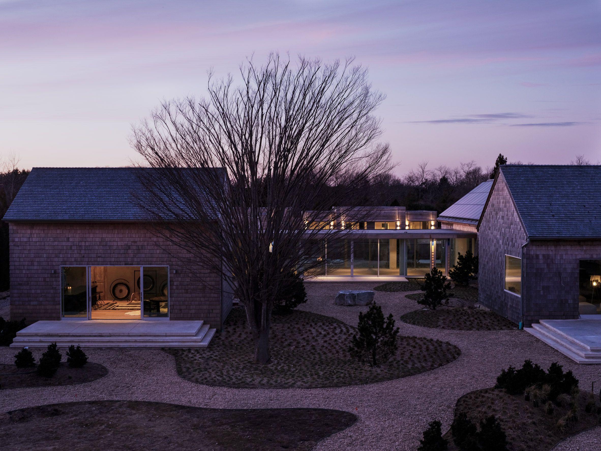 Japanese Influenced Shou Sugi Ban House Provides A Wellness