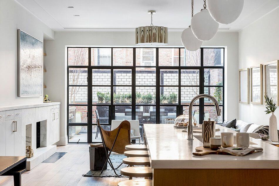 Greenwich village row house cwb architects also kitchen in rh pinterest