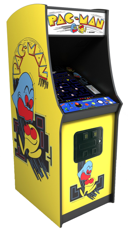 ffecb41e Pacman Galaga Ms Pac Man 80's Arcade Games 60 Classic 60-1 upright stand-up  New Ms Pacman Galaga Pac Man 60 Classic 80s Arcade Games 2 Year Warranty