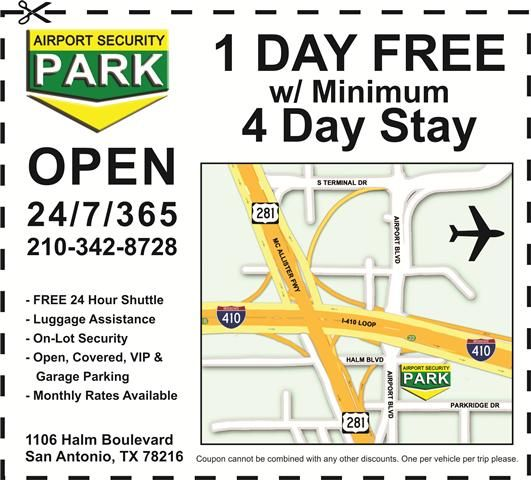 Coupon For Airport Security Parking Airport Security Airport