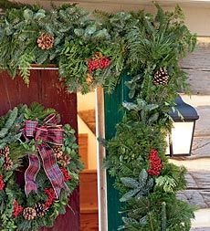 fresh fragrant greenery from the pacific northwest delivered right to your door festive easy and beautiful perfect for porch deck doorway and more