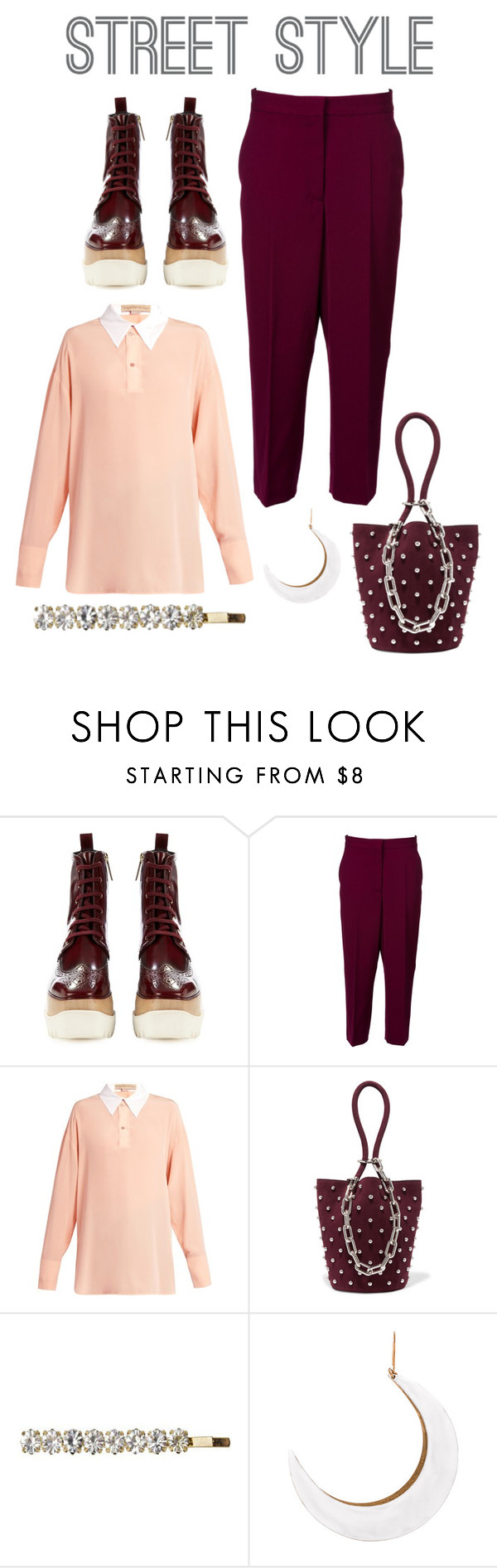 """Elyse"" by perpetto ❤ liked on Polyvore featuring STELLA McCARTNEY, Alexander Wang and Emi-Jay"