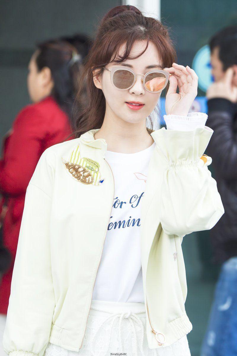 Seohyun's Latest Airport Fashion Causes Buzz Among Koreans ...