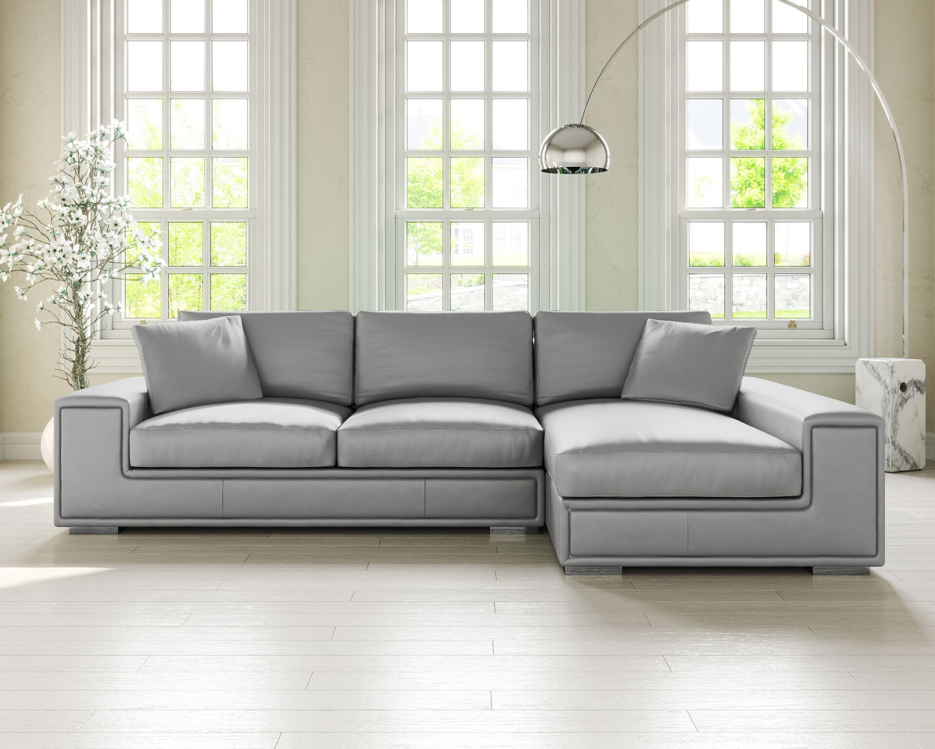 The Lupo Leather Corner Sofa Is A Versatile Corner Sofa That Can Fit Into Most Living Rooms Comfortably Elegant Stitch De Leather Corner Sofa Corner Sofa Sofa