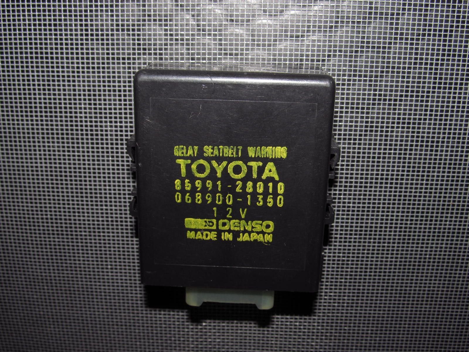 91-97 Toyota Previa Relay Seat Belt Warning Unit Module 85991-28010 Toyota  Previa