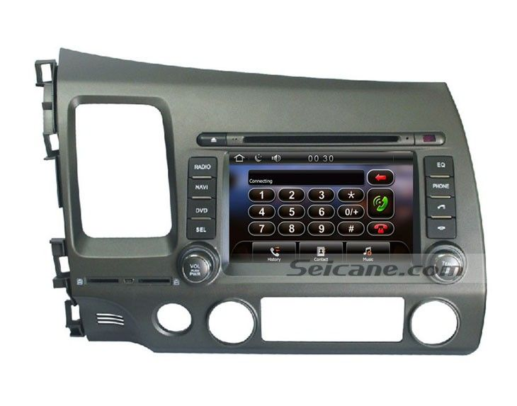 2006 2007 2008 2017 Honda Civic Gps Radio Dvd Bluetooth Navigation System Support Backup Camera