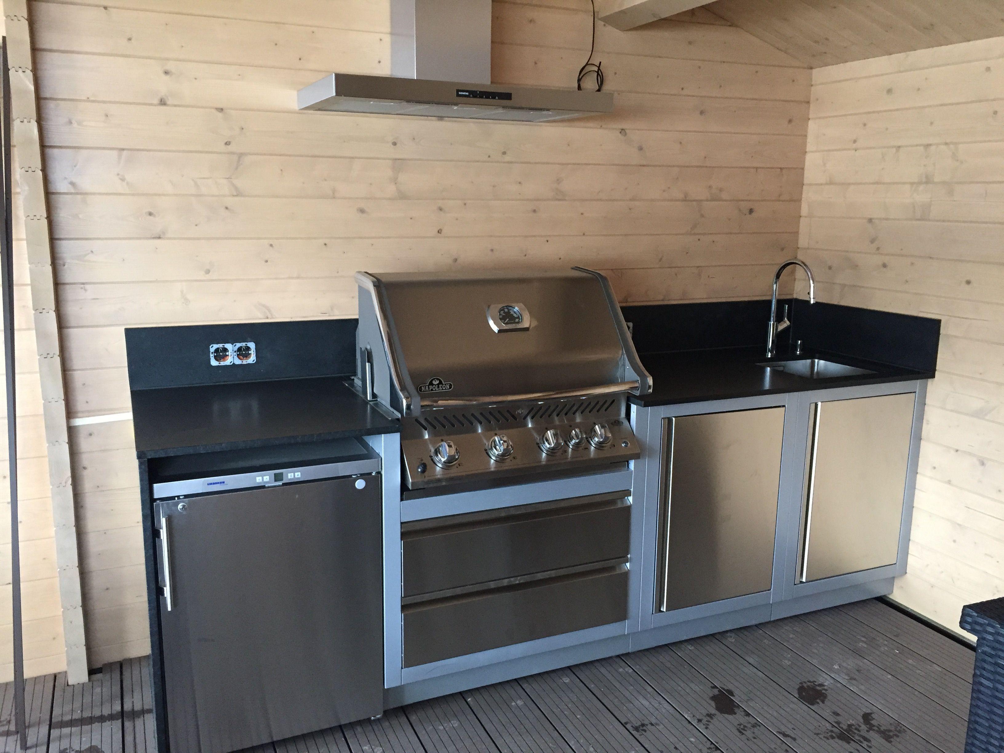 Napoleon Oasis System Outdoor Küche  Outdoor küche, Küche, Küche