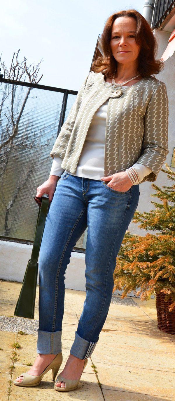 Resultado de imagen para fashion jeans over 50