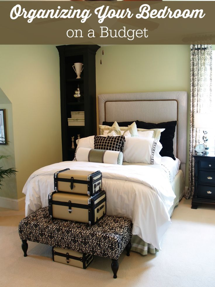 Exceptionnel Organizing Your Bedroom On A Budget   Seven Simple Tips To Turn Around This  Space In Your Home!