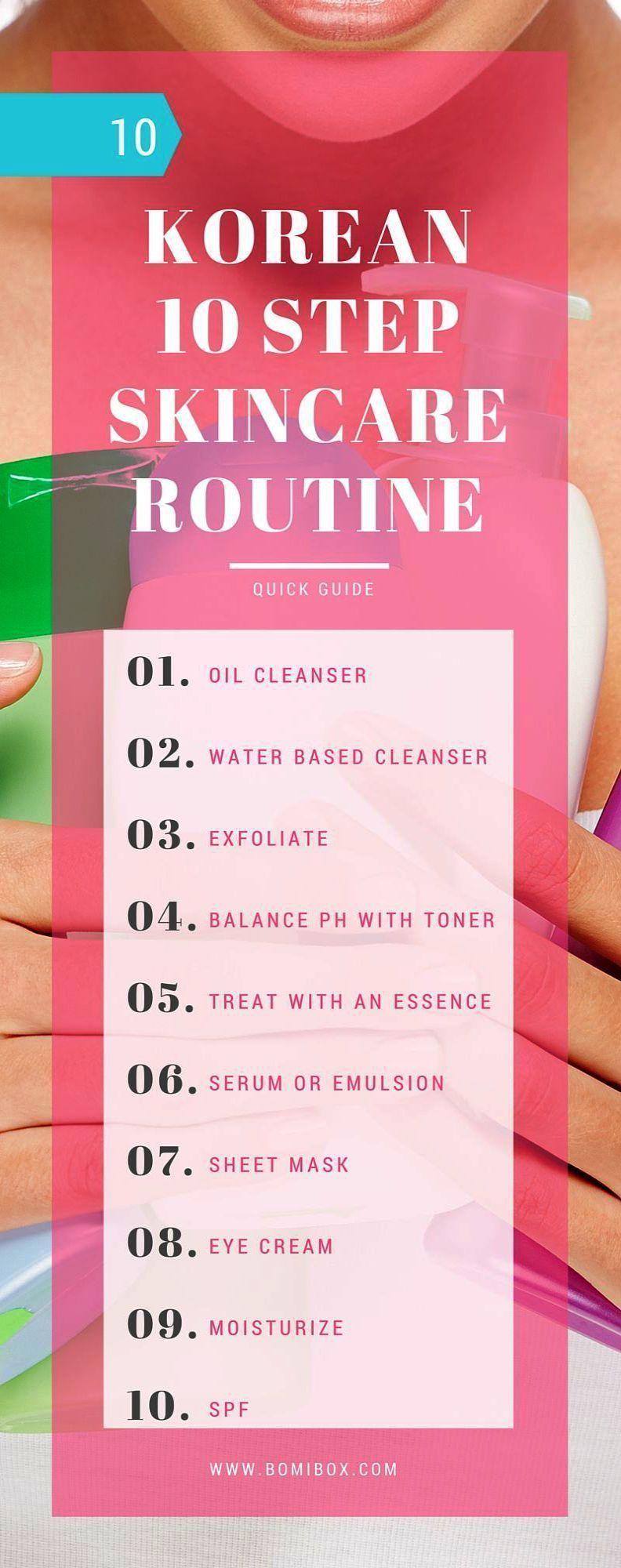 Korean Skincare Steps Emulsion Considering Skincare Routine Combination Skin Sk Skin Care Steps Skincare Routine Combination Skin Skin Care Routine Order