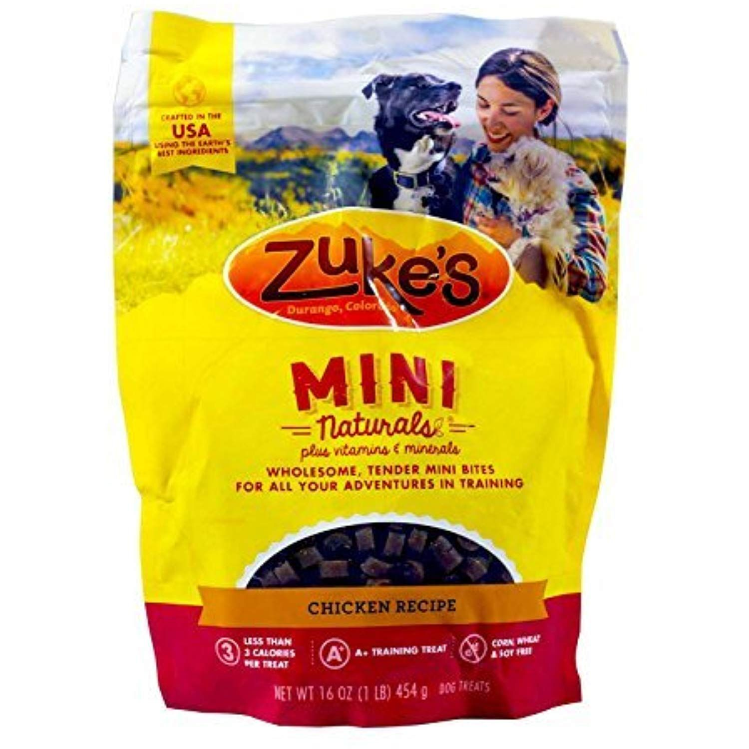 Zuke S Mini Naturals Dog Treats Chicken 16oz Pack Of 3 Be Sure To Check Out This Awesome Product This Is An A Natural Dog Treats Dog Treats Natural Dog